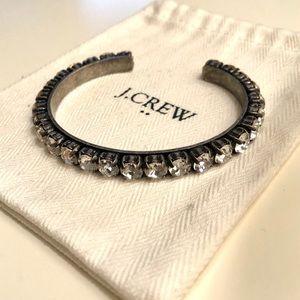 J. Crew Crystal Cuff Bracelet